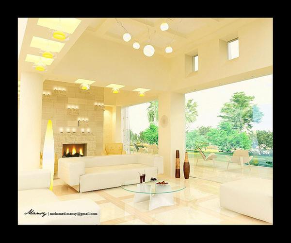 Living Room Interior By Mohamedmansy On DeviantArt