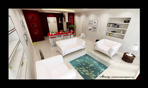 Penthouse Interior by mohamedmansy
