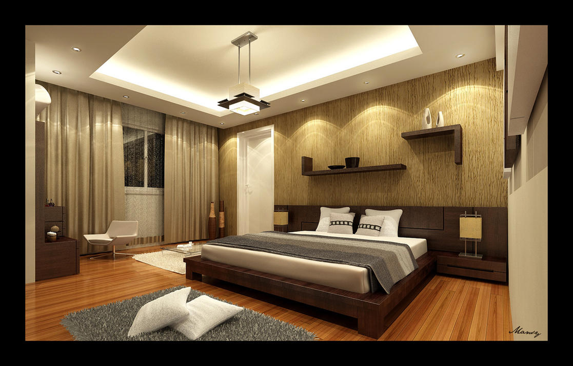 Bed Room Interior 1 by mohamedmansy
