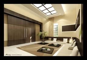 Utaibi House -Dining1 by mohamedmansy