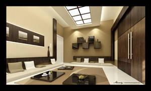 Utaibi House -Dining2 by mohamedmansy