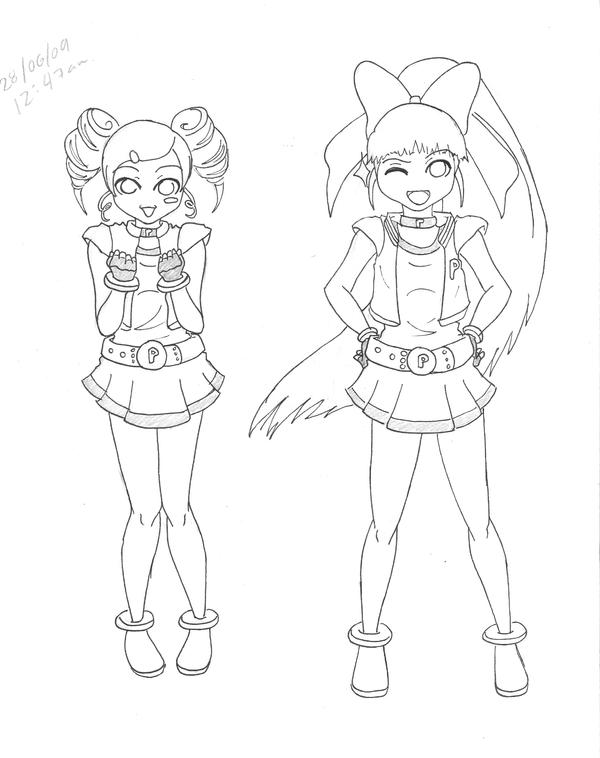 PPG_Z_Blossom_and_Bubbles by SabakuNoJulliet on DeviantArt