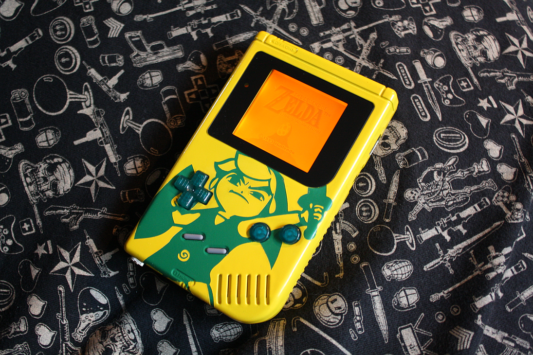 Custom GameBoy (LinkBoy) by 9-Heart