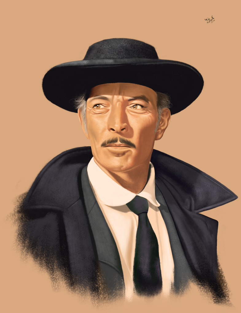 Lee Van Cleef by FroXXen on DeviantArt
