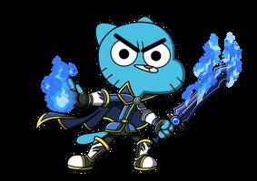 TAFoG: Gumball The Spell Knight by RadiumIven