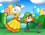 Darwin Luigi and Daisy Carrie