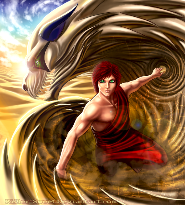 Sabaku No Gaara by Killer-Sweet