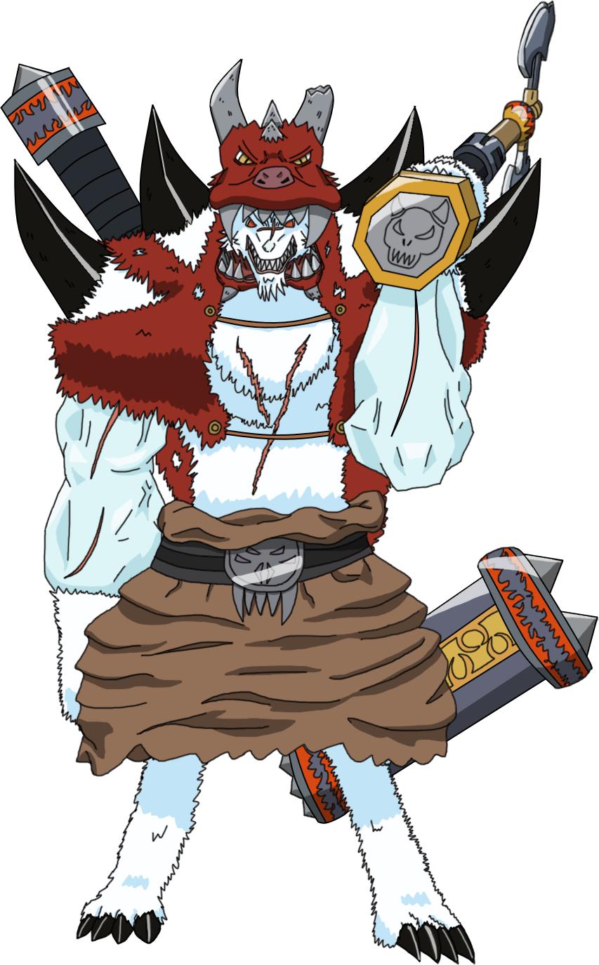 Zatch Bell! OC - Royal Knight Sir Barburos by TDPNeji