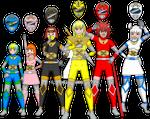 My Zatch Bell! OC's as Mamodo World Power Rangers
