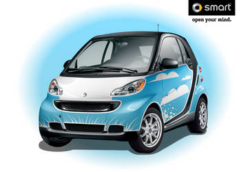 Clean Skys-Smart Car by IZ-Person