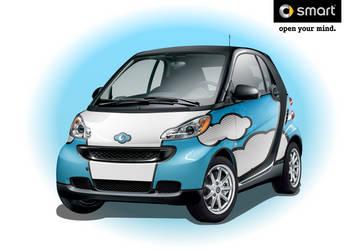 Vector Sky-Smart Car by IZ-Person