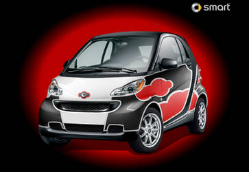 Sexy Red-Smart Car by IZ-Person