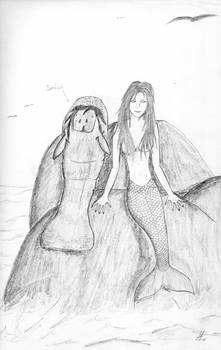 Mermaid And Manatee