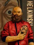 Helkinski Money Heist Fan Art