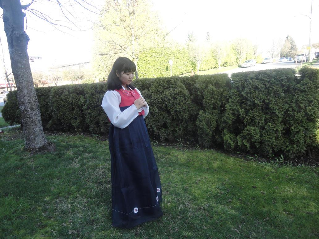 Girl in Hanbok 1 by eunichang