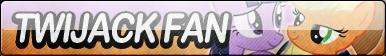 TwiJack Fan Button by JustButtons