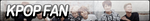 Kpop Fan Button by JustButtons