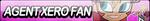Agent Xero Fan Button by JustButtons