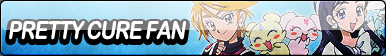 Pretty Cure Fan Button
