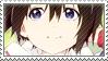 Nishimiya Yuzuru stamp by JustButtons