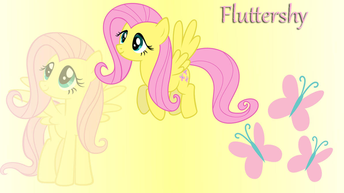 Fluttershy Wallpaper MLP by Misu681 on DeviantArt