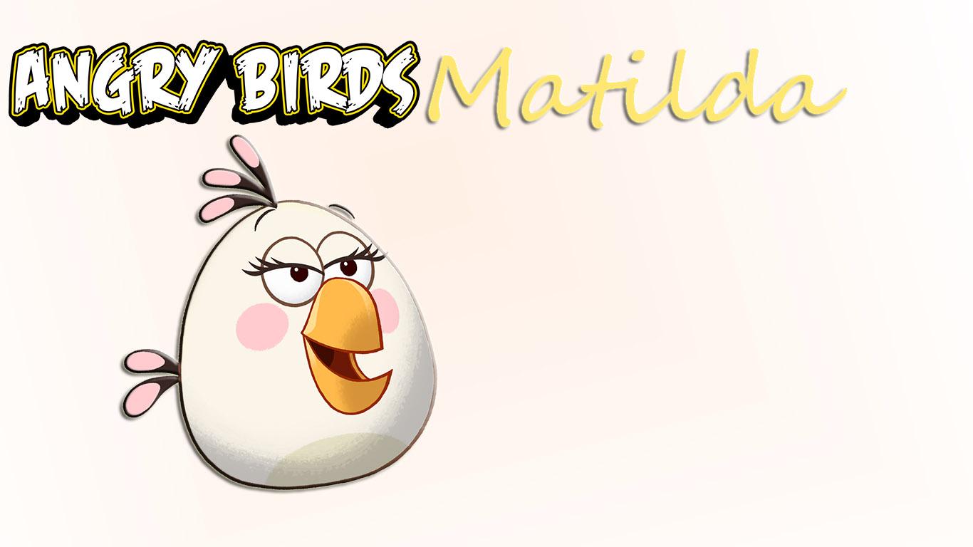 Angry Birds Matilda Wallpaper 441989167