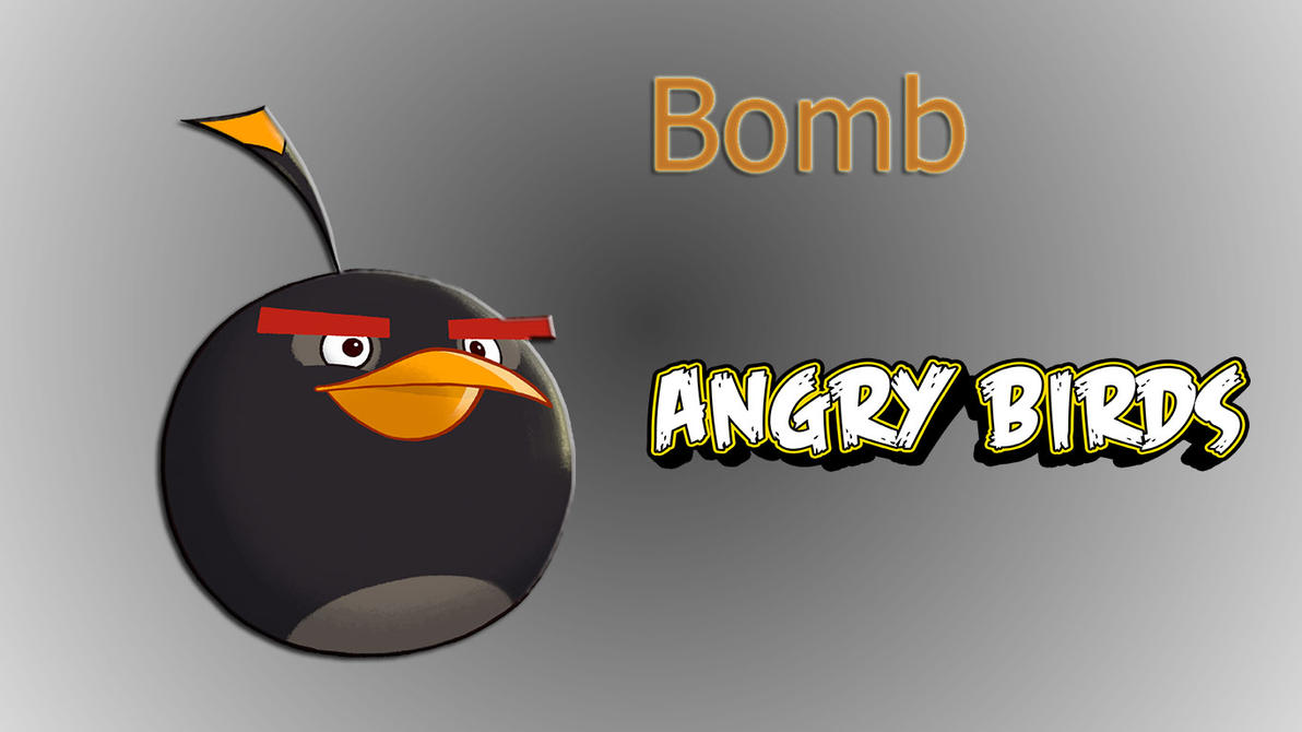 Any One 1 6 Jaeger Birds Hd Wallpapers: Angry Birds Bomb Wallpaper By Misu681 On DeviantArt
