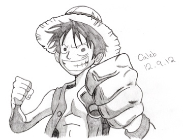 Fan Art: Luffy, One Piece by azuk42