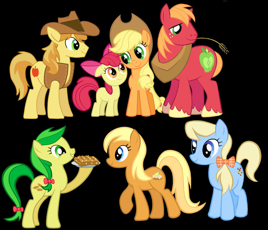 MLP: Half a dozen Apples by GothicKitta