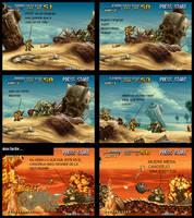 metal slug 3 -mision 1- by zerothehunterx