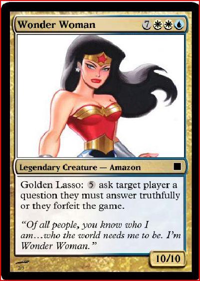 Wonder Woman by notalonewolf20