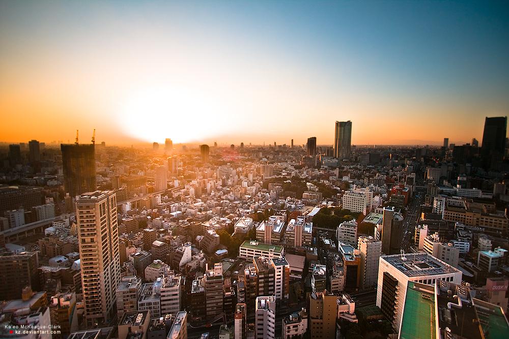 Shiny Light of Tokyo by kz