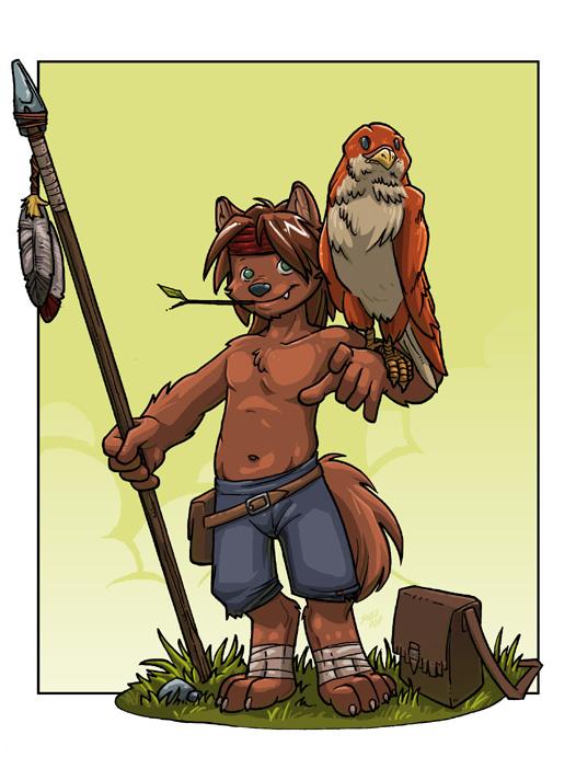 Wolf Anthro Boy Wolf Boy by Solidasp