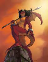 Dragon Lady by solidasp