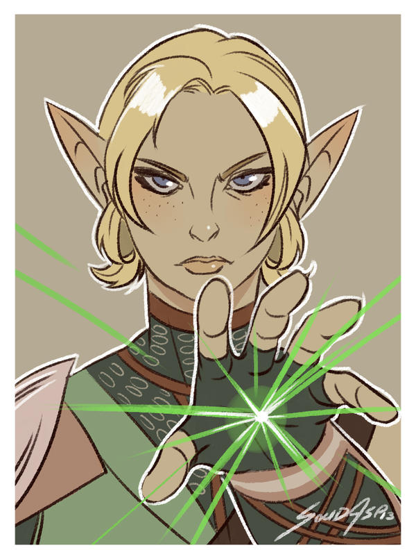 Dragonage inquisition tarot Fan art by solidasp