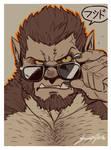 Nomifuki Werewolf Portrait