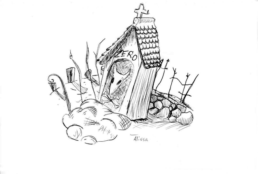 Nightmare Before Christmas Zero Drawings 44613 | MOVIEWEB