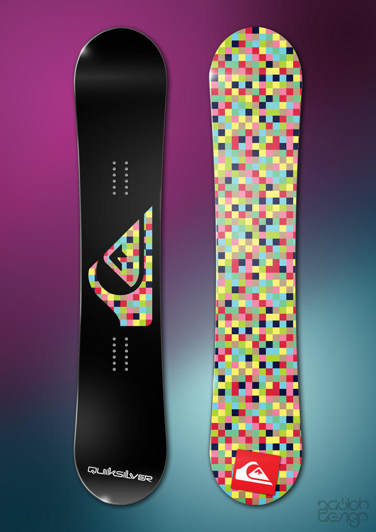 Pixelate Problem - Quiksilver by paulodesign