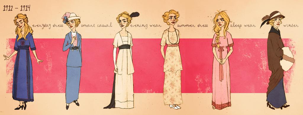 1912-1914 wardrobe by effleur