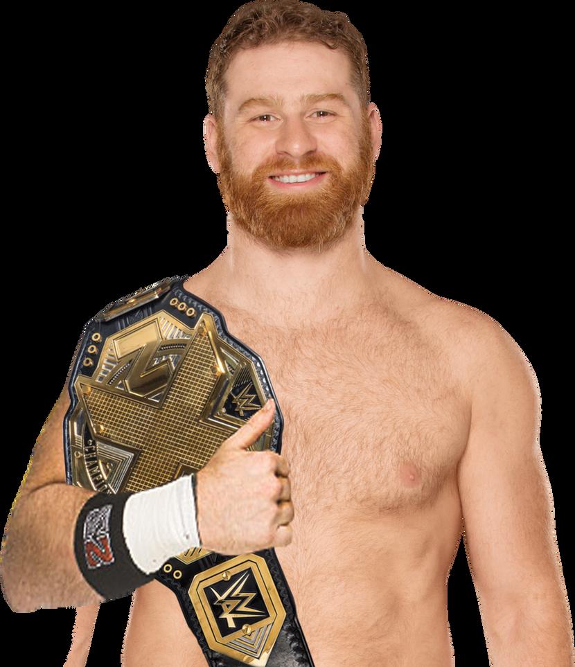 Sami Zayn NXT Champion 2017 by JoseBryan-28
