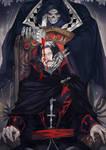 Fanart- Castlevania (Death/Dracula)