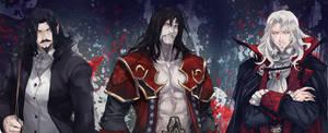 Fanart- Castlevania (Dracula)