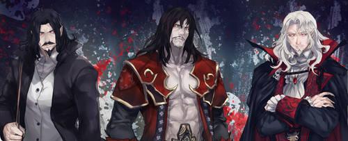 Fanart- Castlevania (Dracula) by YitJulia