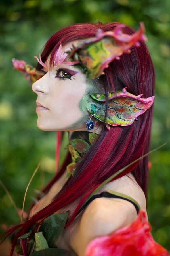 League of legends zyra cosplay