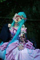 Miku Hatsne_VOCALOID2 by AMPLE-COSPLAY