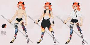 MYO Dainty- Wolf