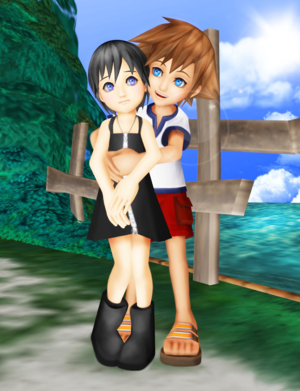 Be My Friend - Sora/Xion Day 2013 by SorasPrincesss