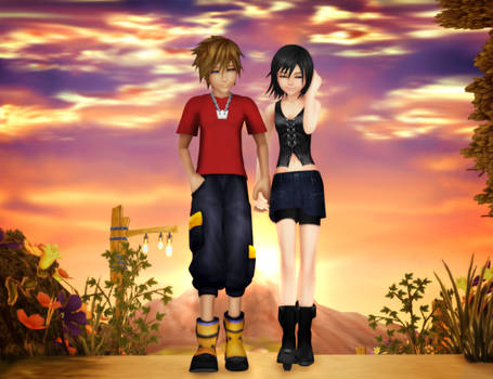 Two Years Later - Sora/Xion