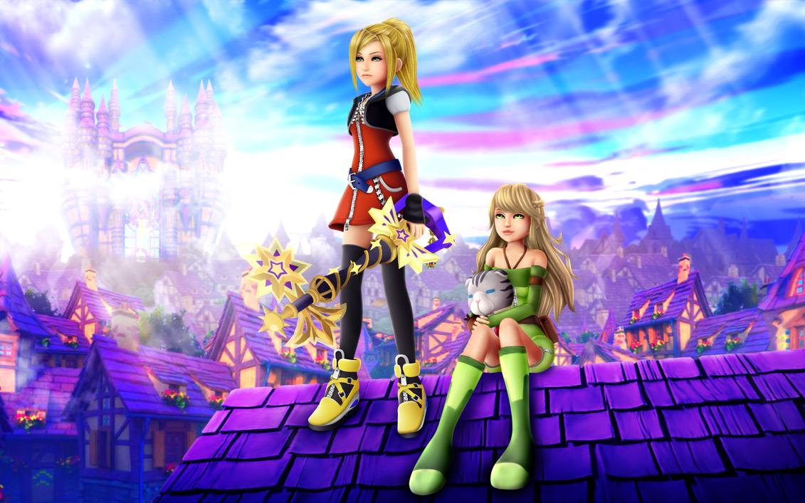 Kingdom Hearts Unchained X by SorasPrincesss