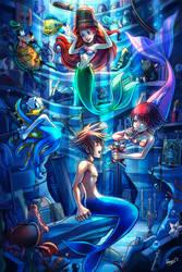 Ariel's Treasures - Sora and Kairi in Atlantica